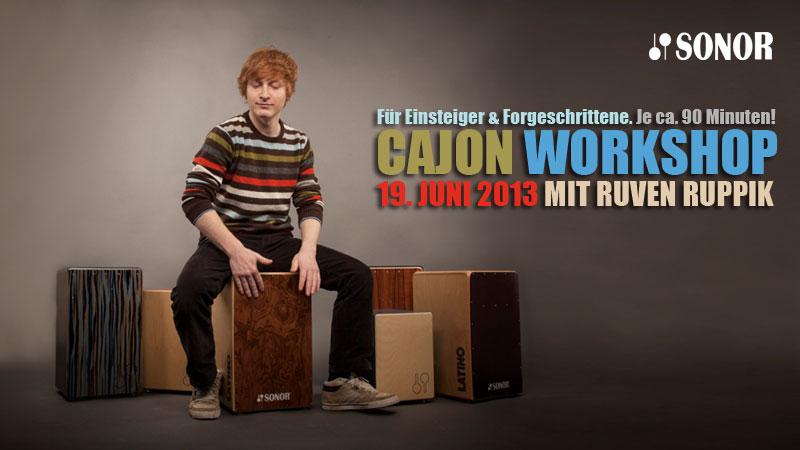 Sonor Cajon Workshop