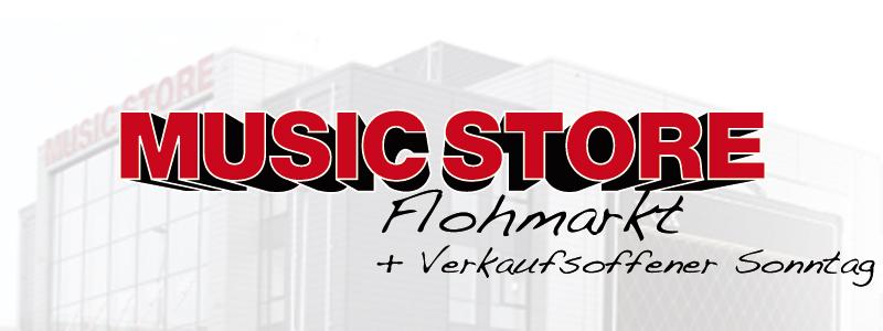 MUSIC STORE Flohmarkt 2013