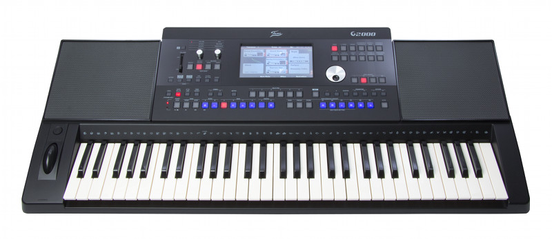 Das neue FAME G2000 Keyboard mit Touchdisplay
