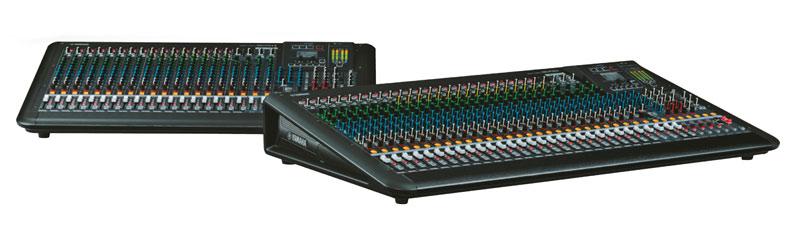 Neue MGP-Mixer von Yamaha