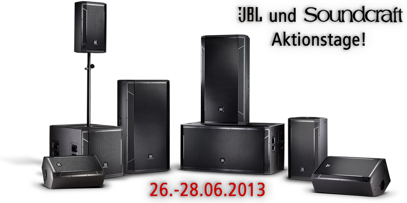 Soundcraft und JBL Aktionstage