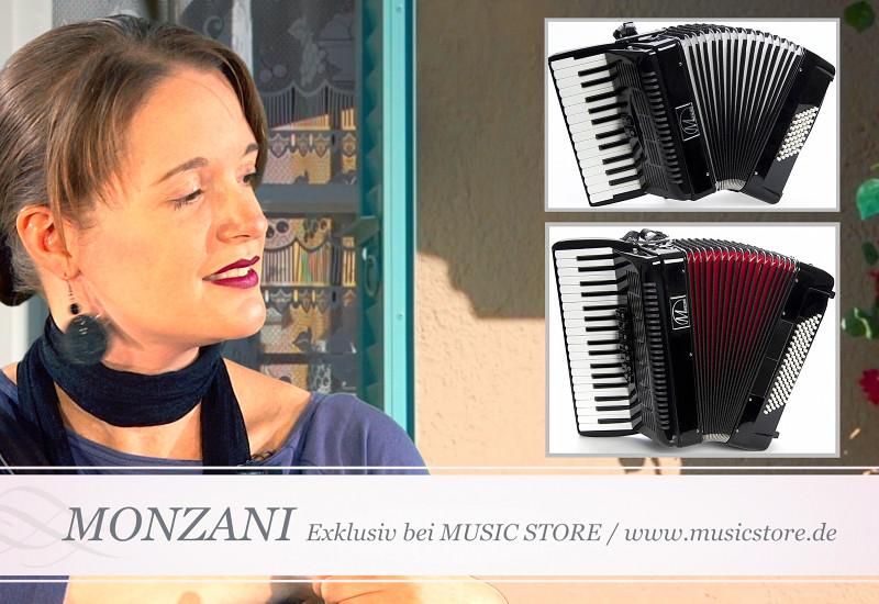 Kennen Sie die neuen Monzani Akkordeons?