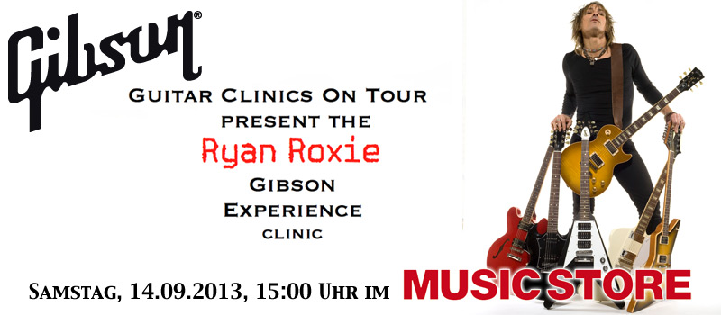 Ryan Roxie Clinic Tour 2013