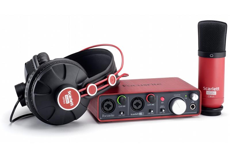 Die komplette Lösung für Recording am Computer