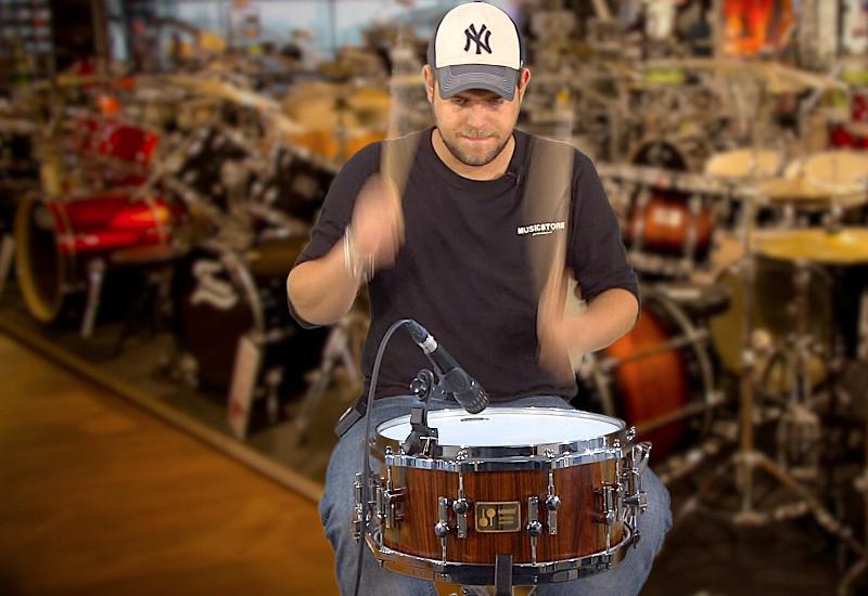 Nur 20 Stück: Die SONOR Special Edition Snare Drum