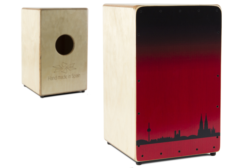 DUENDE Cajon PRO MS Edition Cologne Skyline