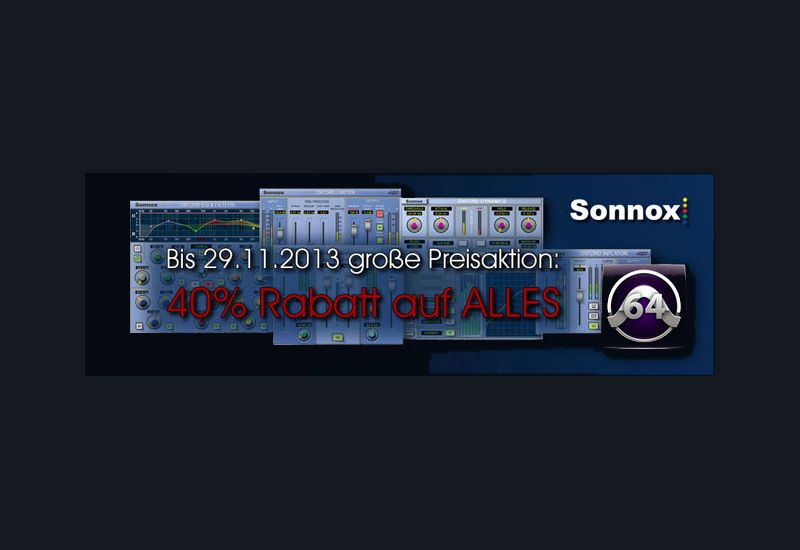 "Sonnox ""Deal of the year"" -40% auf ALLES"
