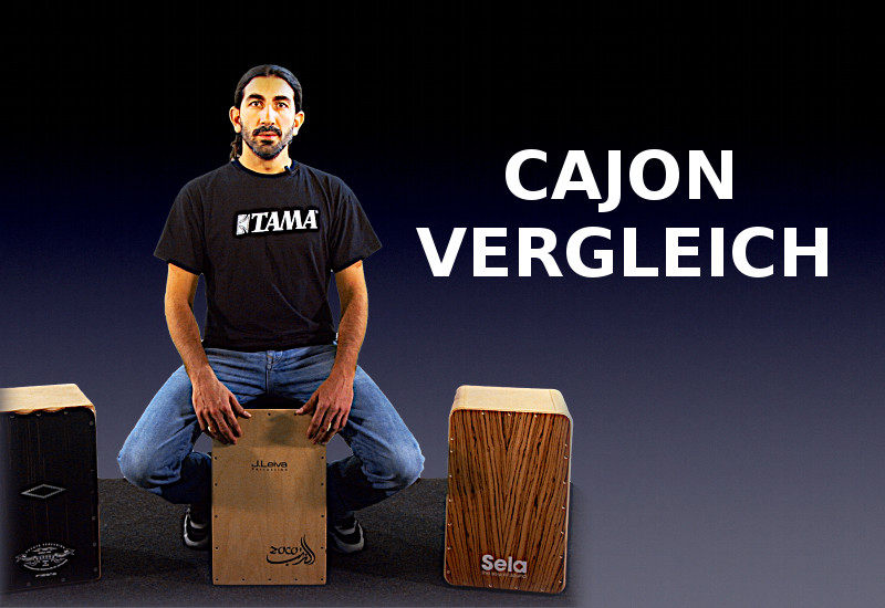 Cajon-Vergleich bei Music Store TV