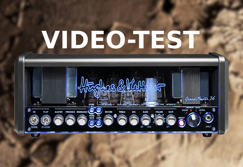 Hughes & Kettner Grandmeister 36 Head Demo