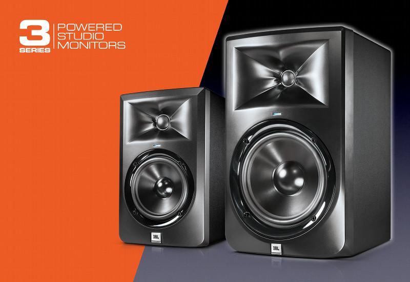 Vorstellung der neuen JBL Studio Monitore LSR305 + LSR308
