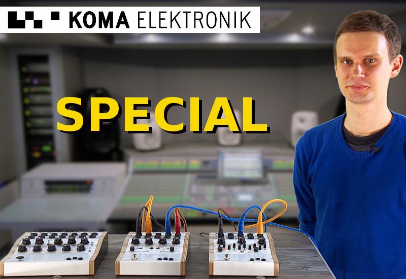 Koma Elektronik zu Besuch bei Music Store TV