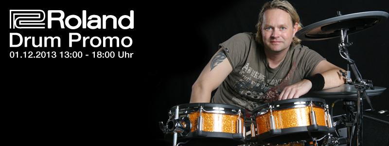 Roland E-Drum Promo 2013