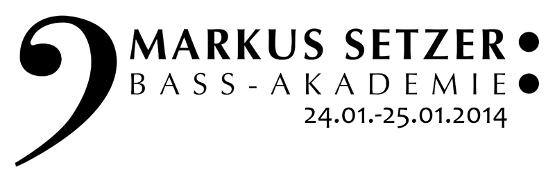 Markus Setzer Bass Workshop 1/2014