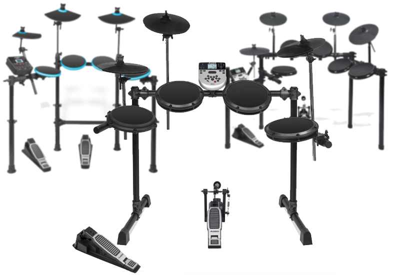 Die neuen ALESIS E-DrumSets: DMLite Kit, DM7X & DM7X Session