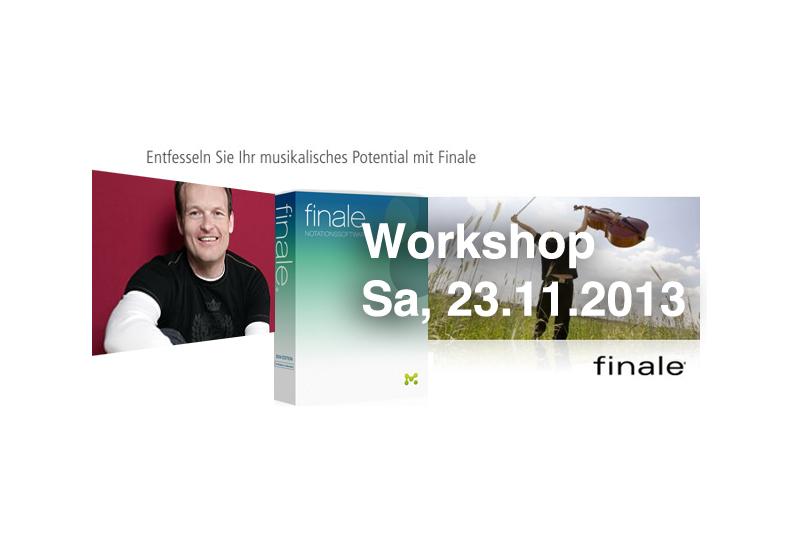 Workshop Notationsprogramm Finale 2014
