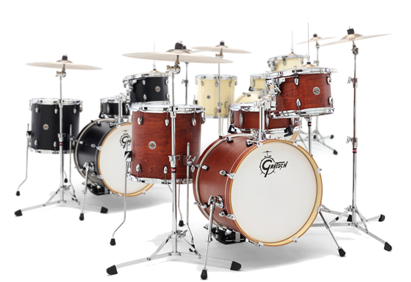 GRETSCH Catalina Club- und Catalina Maple-Drumsets 2014