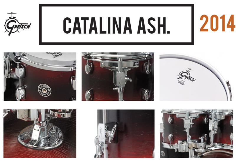 NAMM 2014 – Catalina Ash mit neuen Features
