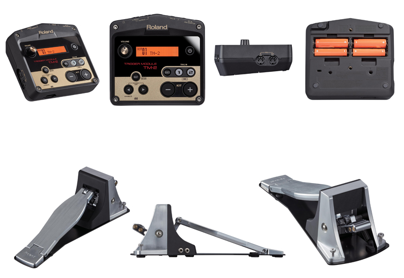 NAMM 2014 – Roland TM-2 Trigger Modul & Kick Trigger Pedal KT-10