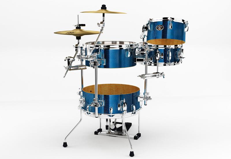 NAMM 2014 – Tama Silverstar Cocktail-JAM Drumkits