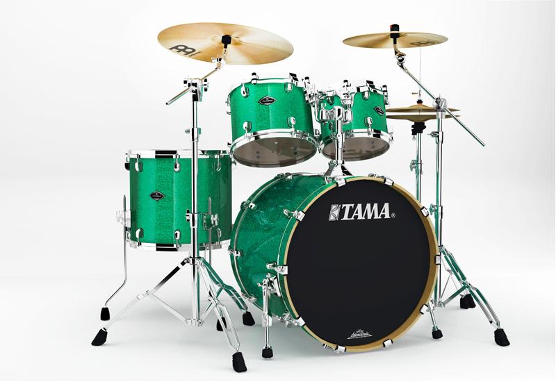 NAMM 2014 – TAMA Starclassic Performer B/B mit neuen Setups
