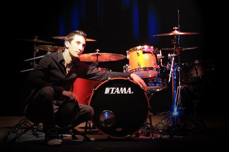 Stephane Avellaneda (ANA POPOVIC BAND) live im MUSIC STORE