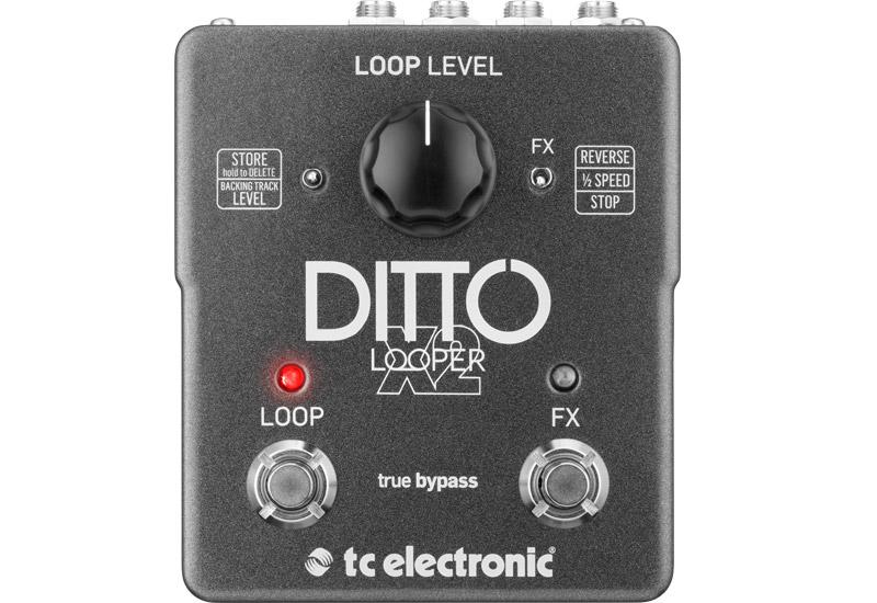 BRANDNEU – TC Electronic Ditto X2 Looper