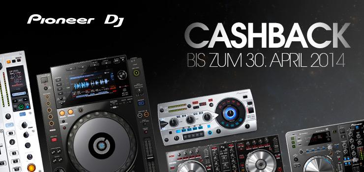PIONEER DJ SPRING CASHBACK AKTION vom 1.2. bis 30.4.14