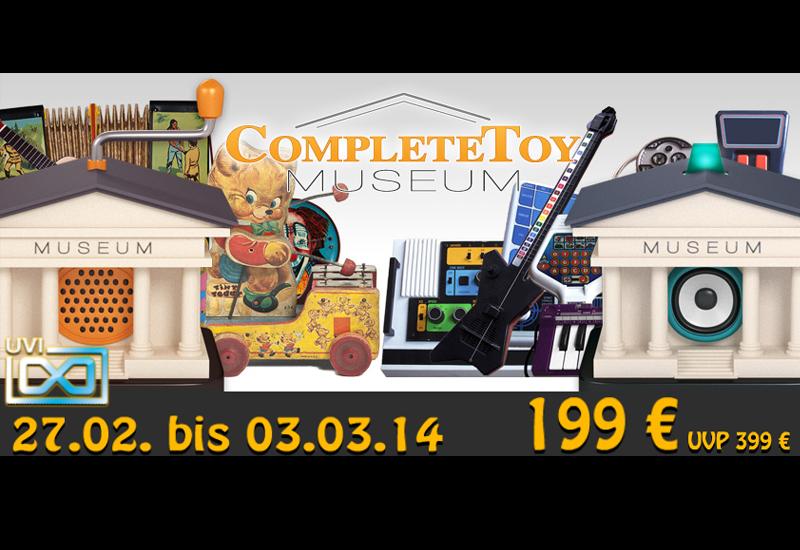 UVI Complete Toy Museum für 199 Euro – nur bis 03. März 2014!!!