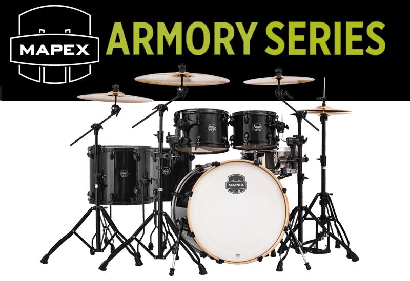 Die neue Armory – Serie von MAPEX