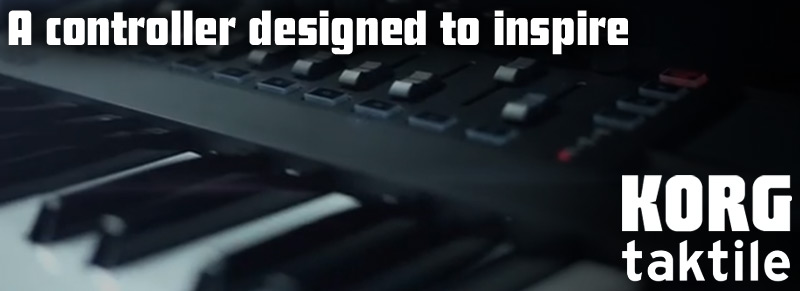 Die KORG TAKTILE-Controller-Keyboards