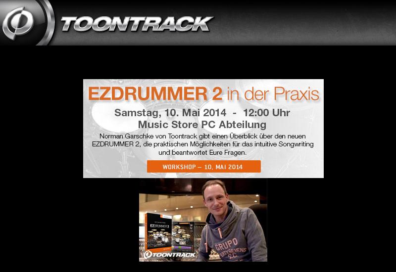 TOONTRACK EZDRUMMER 2 Workshop