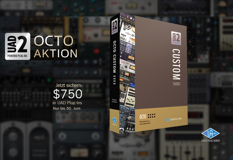 Universal Audio UAD 2 Octo Aktion