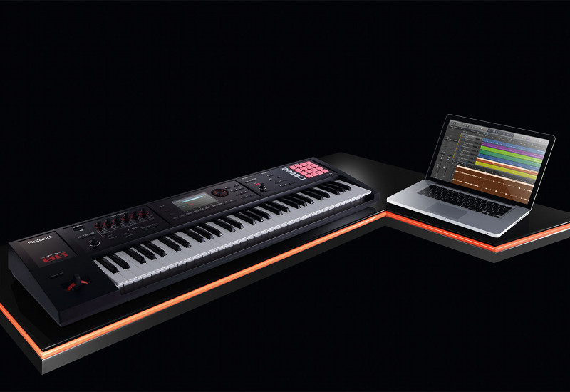 ROLAND Workstations FA06 FA08 im Video-Test