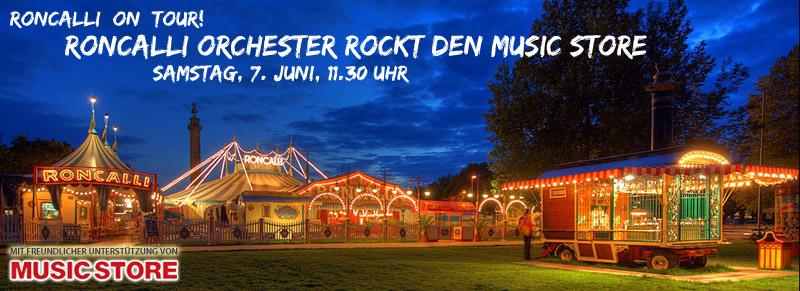 Mit MUSIC STORE zu Circus Roncalli
