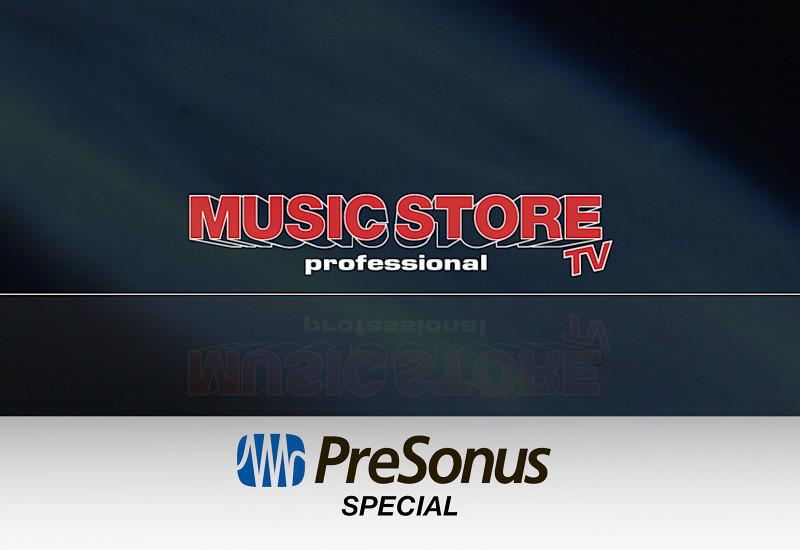 Presonus Special mit den Neuheiten 2014