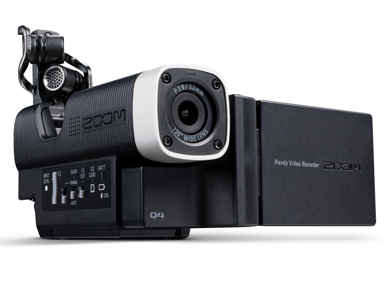 ZOOM Q4 HD Video Camcorder für Musiker