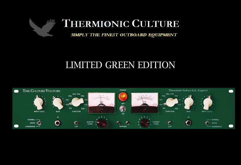 Thermionic Culture Green Vulture – Limited Green Special Edition