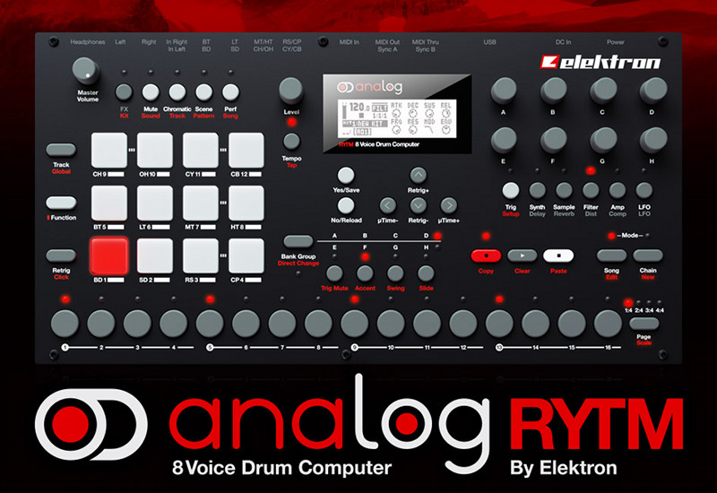 ELEKTRON Analog Rytm Analoger Drum Computer