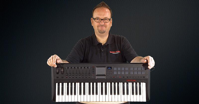 Neu und vielseitig: KORG Triton Taktile Keyboards