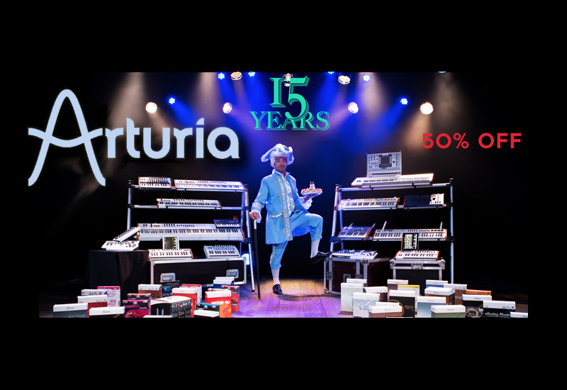 Arturia V-Collection 3 – Special Offer 50% Rabatt