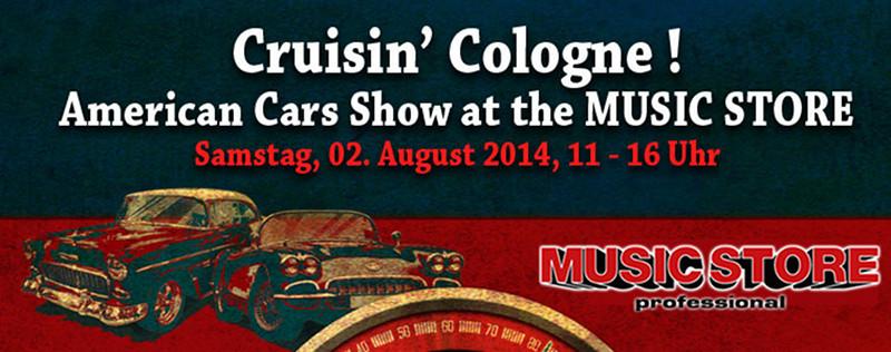 Rückblick Cruisin' Cologne 2014 US-Car Treffen