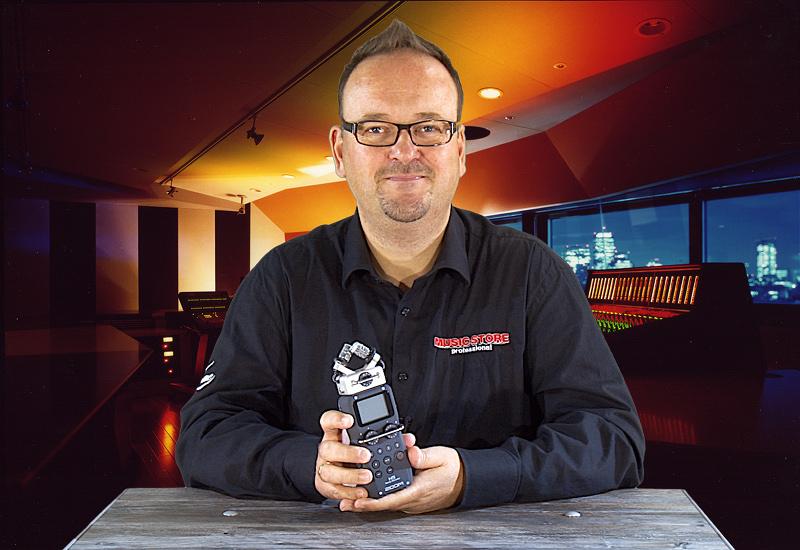 ZOOM H5 Handy Recorder mit Wechselkapseln