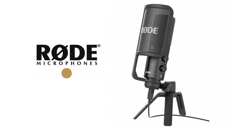 RØDE NT-USB Computer Mikrofon in Studioqualität