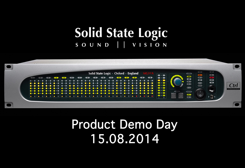 SSL Product Demo Day im Music Store am 15.08.2014