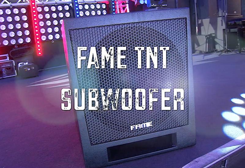 FAME TNT-Subwoofer: Viel Bass für wenig Geld