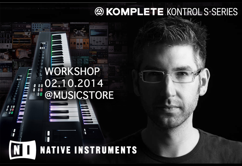 Native Instruments Take Control – Komplete Workshop Tour Köln