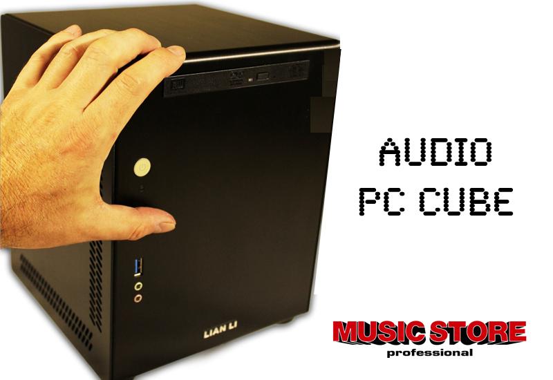 Der neue Audio PC Cube!  Klein, schnell und zuverlässig
