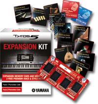 Die yamaha tyros 5 keyboards jetzt mit gratis expansion for Yamaha expansion pack