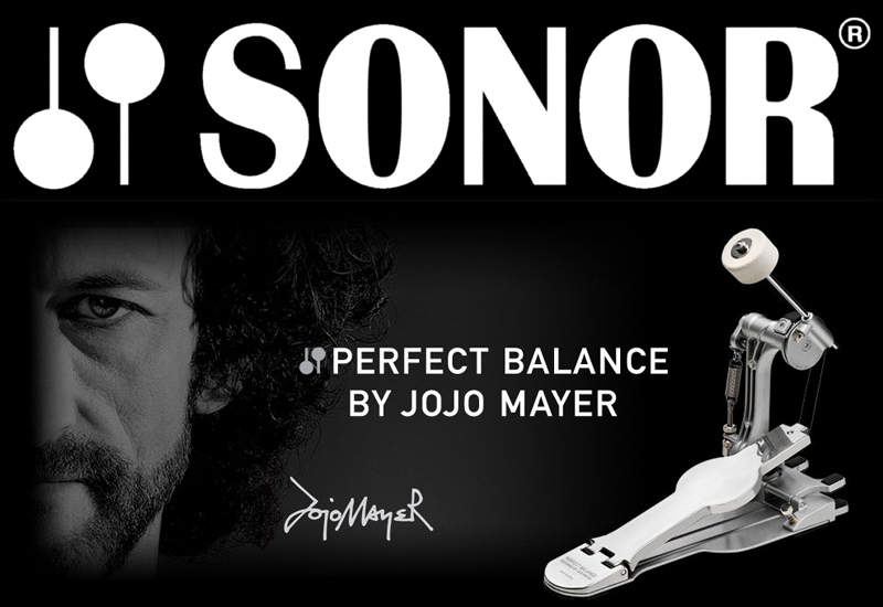 SONOR Perfect Balance Pedal by Jojo Mayer inkl. Gratis DVD!