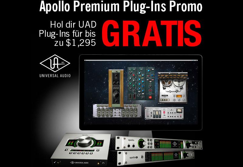 Universal Audio Apollo Rabatt-Aktion